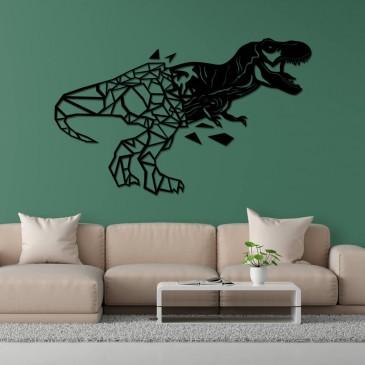 """Декоративное панно из дерева """"Динозаврик"""""""