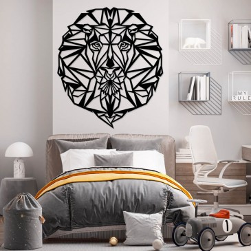"Декоративное панно из дерева ""Mandala Leo"""