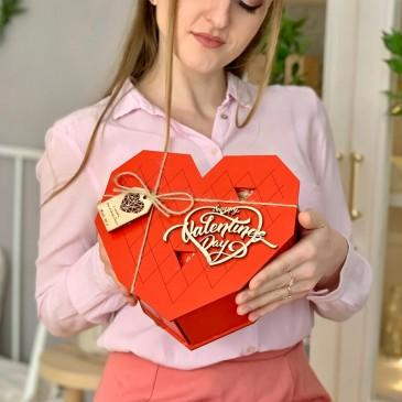 """Подарочный набор сладостей """"Valentine's Day"""" XL"""