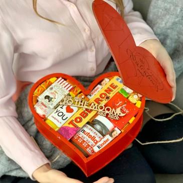 """Подарочный набор сладостей """"Valentine's Day"""" XXL"""