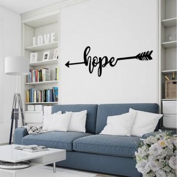 "Декоративное панно из дерева ""Hope"""