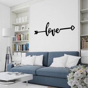 """Декоративное панно из дерева """"love 2.0"""""""