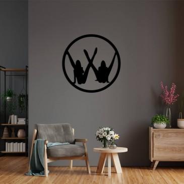 """Декоративное панно из дерева """"Real Volkswagen"""""""