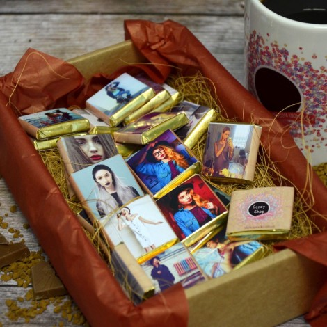 Шоколад с фото «Крафт» (60 шт.)