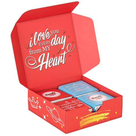 """Шоколадный набор """"I love you"""" mini"""