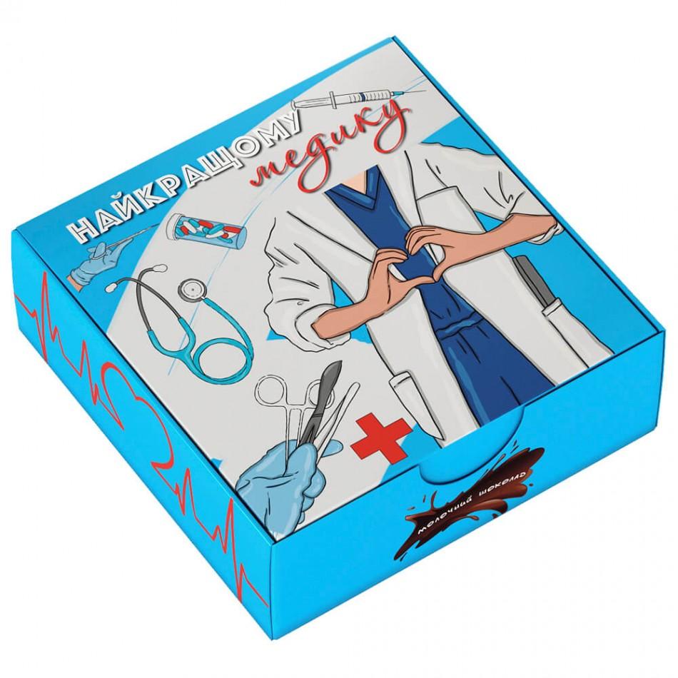 """Шоколадный набор """"Найкращому медику"""" mini"""