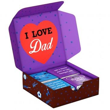 """Шоколадный набор """"Найкращому татусю"""" mini"""