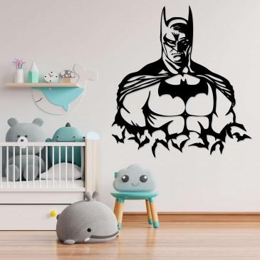 """Декоративное панно из дерева """"Бэтмен"""""""