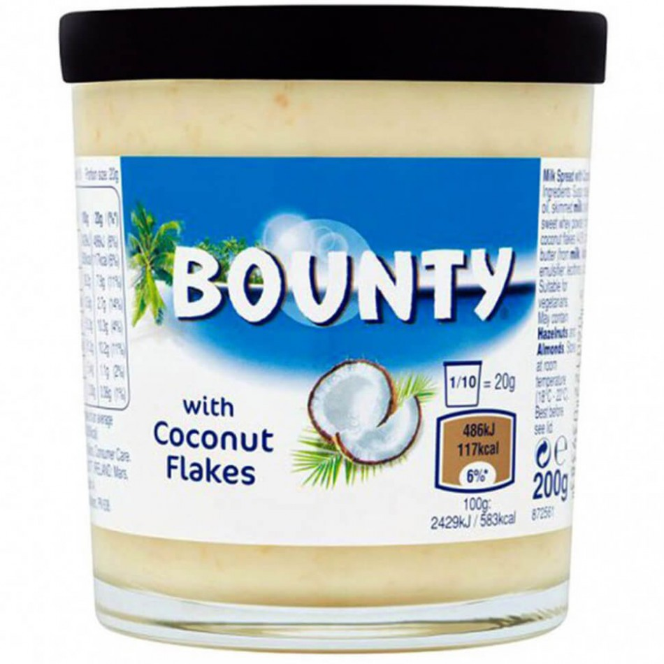 Bounty With Coconut Flakes